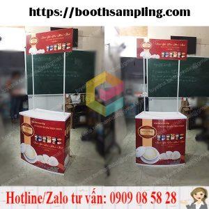booth sampling nhua lap rap