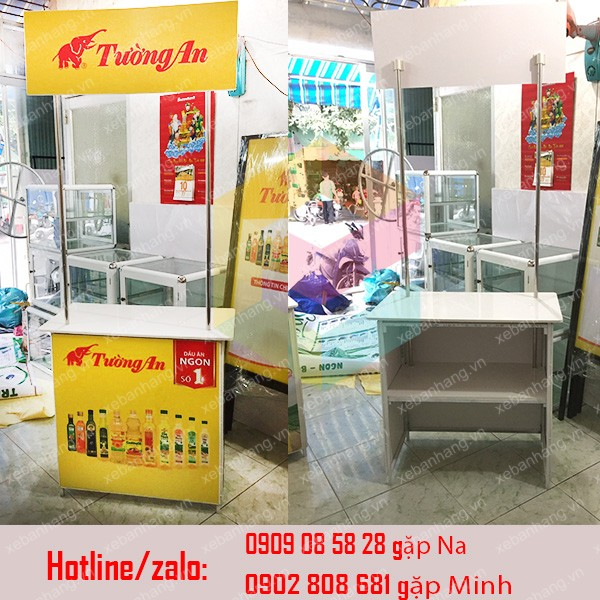 cung cap booth ban hang bang sat