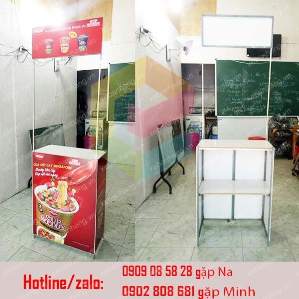booth ban hang mini gia re