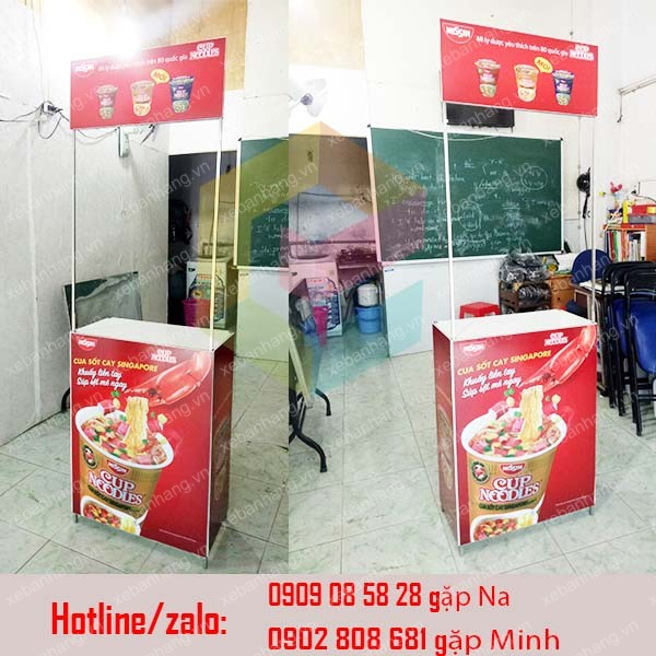 booth ban hang mini