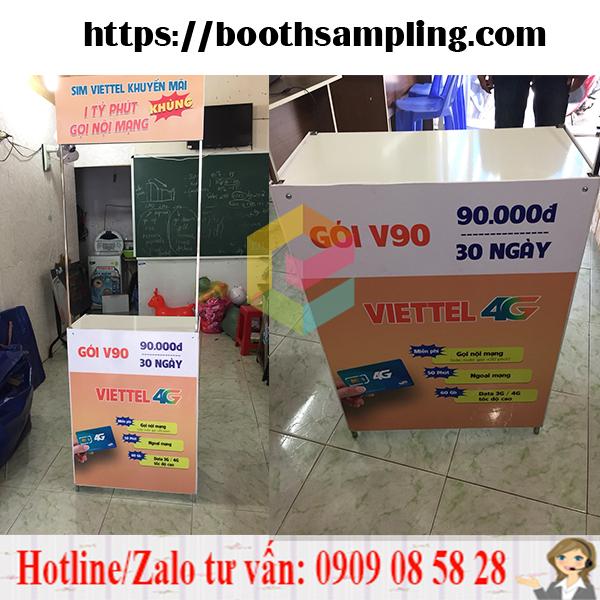 booth sat ban hang di dong hcm