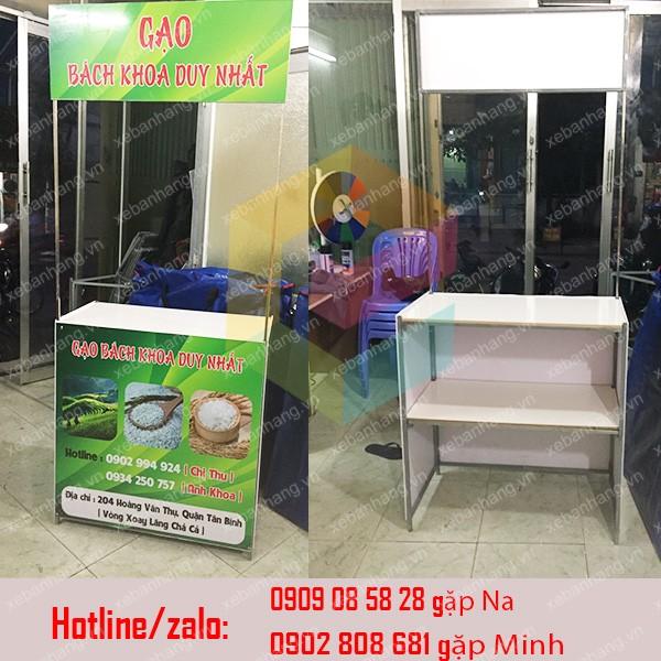 cung cap booth sat ban hang di dong