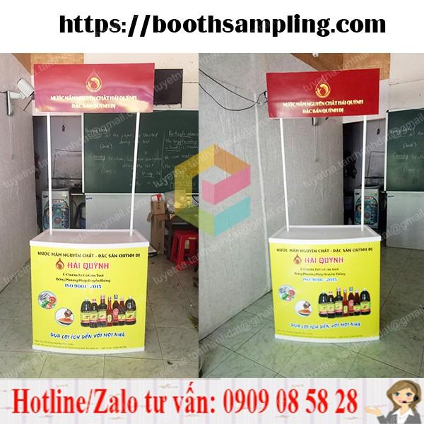 booth ban hang luu dong bang nhua