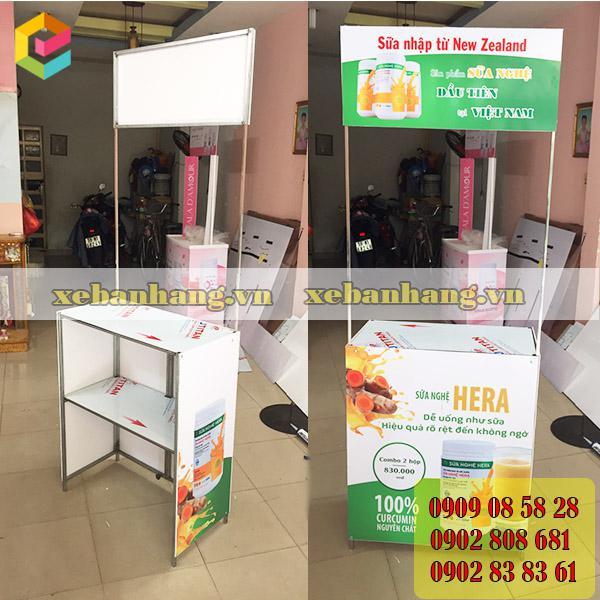 booth ban hang bang go tphcm