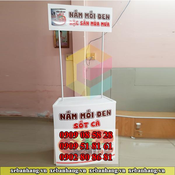 quay booth nhua sampling mini