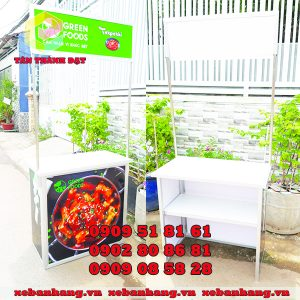 booth nhom quang cao san pham